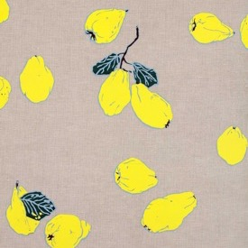 Quinces -  Yellow/Putty - Linen - £135 pm