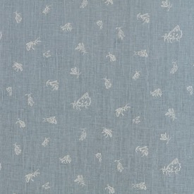 Summer Insects - Ivory/Grey - Linen - £105 pm