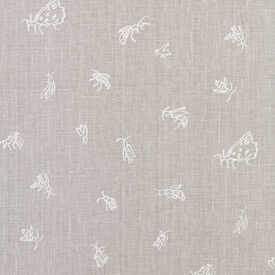 Summer Insects - Ivory/Putty - Linen - £105 pm